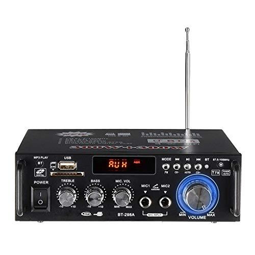 TOOGOO 600W Amplificadores para Casa Amplificador de Audio Bluetooth Subwoofer Amplificador Sistema de Sonido de Cine En Casa Mini Amplificador Profesional