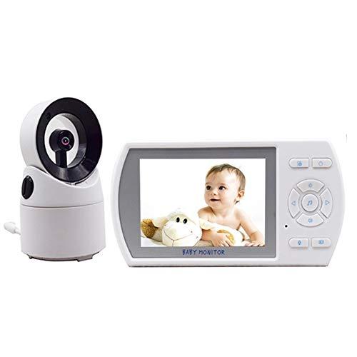 ZXL Babyphones Babyphone 3,5-Zoll-Zwei-Wege-Lautsprecher Digital Video Baby-Monitor für Neugeborene Säuglings-Pets mit digitaler FHSS-Funkübertragung
