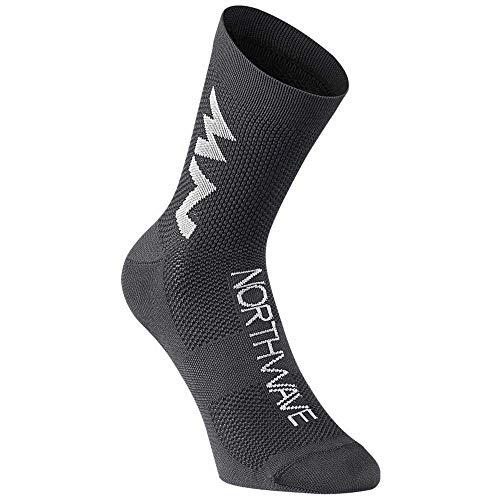 Northwave Extreme Air Mid Fahrrad Socken schwarz 2021: Größe: L (44-47)