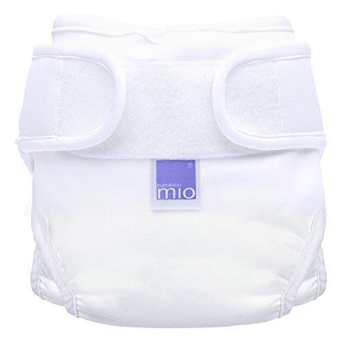 Bambino Mio, Miosoft Windelüberhose, Weiß, Größe 1 (2er Pack)