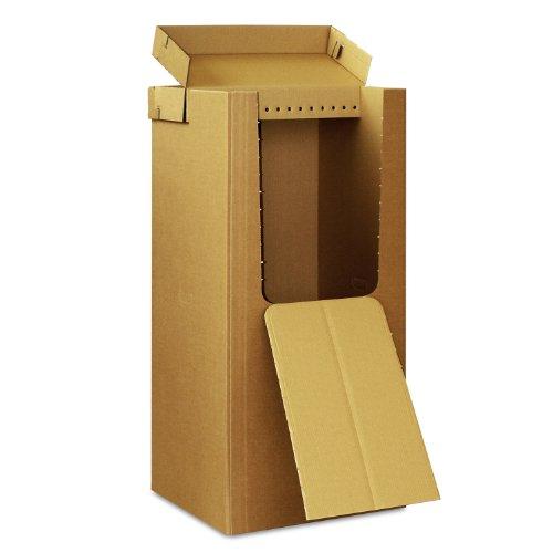 4 neue Kleiderboxen - Kleiderbox in Profi Qualität mit separatem Deckel incl Aufhängevorrichtung thumbnail