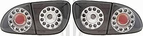 in. pro. 7431998 haute définition LED Feux arrière, Noir/Transparent