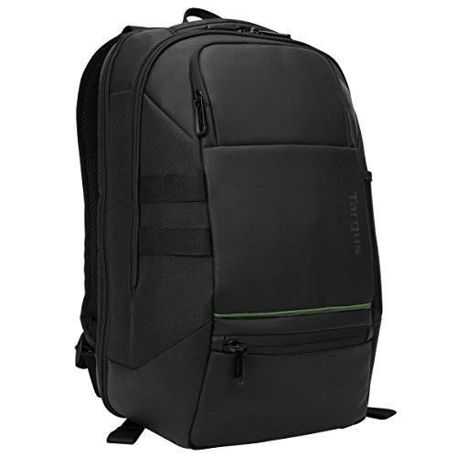 Targus Balance EcoSmart Backpack Designed for Travel and Business Professional Use fits up to 14-Inch Laptop, Black (TSB940EU)