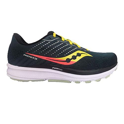 Saucony Men's Ride 13 Running Shoe - Color: Jackalope - Size: 10.5 - Width: Regular
