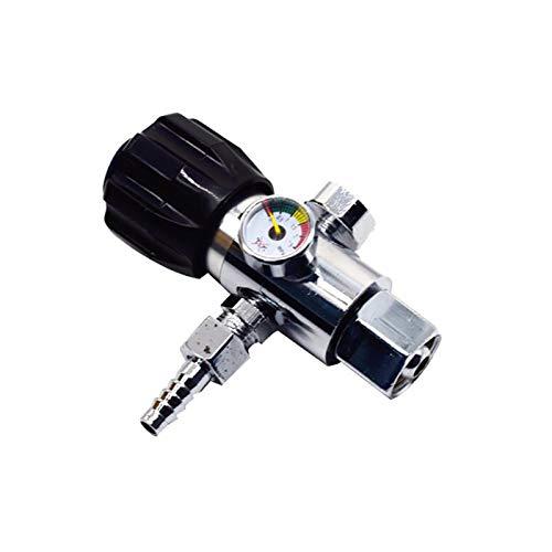 LXH-SH Das elektromagnetische Ventil Mini Regulator Druckminderer Regler Ventil G5 / 8 Druckminderer Anti Fall Schweißgaszähler Industriebedarf