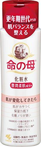 小林製薬 命の母 化粧水 180ml 更年期世代からの肌バランスを整える 豊潤柔肌成分