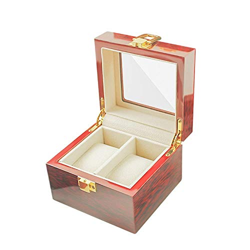 2 lattice golden silk phoebe wood grain watch box piano paint watch display storage box packaging gift box wooden box man's gift