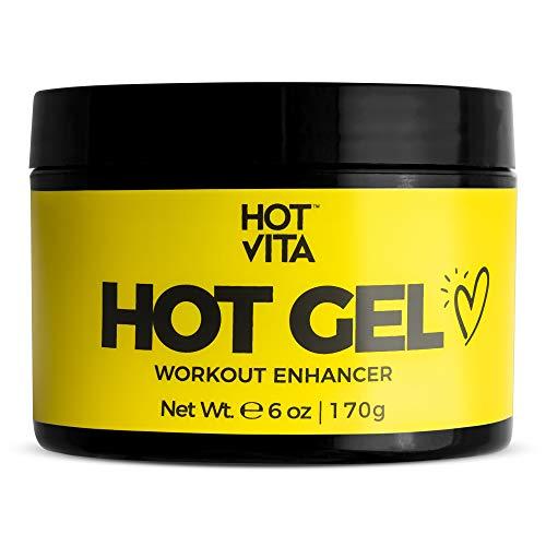 Hot Vita Hot Gel – Sweat Cream Workout Enhancer Belly Slimming Gel (6 oz)