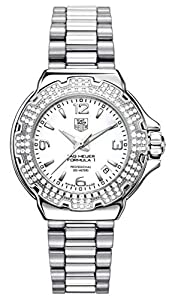TAG Heuer Women's WAC1215.BA0852 Diamond White Dial Formula One Watch