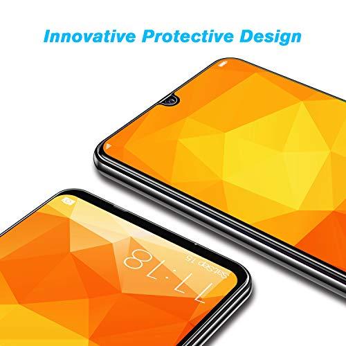 BANNIO für Panzerglas für Huawei Honor 20 lite / Huawei P Smart 2019 / Huawei Honor 10 Lite [2 Stück] 3D Full Sreen Panzerglasfolie Schutzfolie ,9H Härte,Vollständige Abdeckung,Schwarz - 5