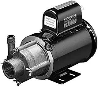 Little Giant 584604, TE-5-MD-HC 1/8 hp 20 gpm TEFC PSC Motor Magnetic Drive Pump w/ 6 ft. Cord, 115/230V - 50/60Hz