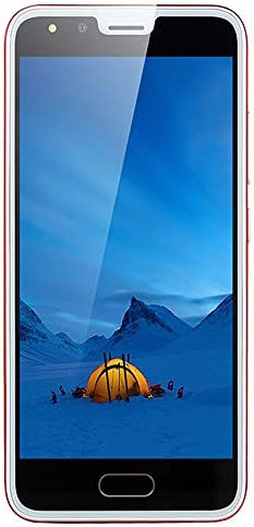 Unlocked Smartphone,2021 New P20 5.0 inch Dual HD Camera Android 4G ROM Dual SIM Call Touch Screen Mobile Cell Phone (Red)