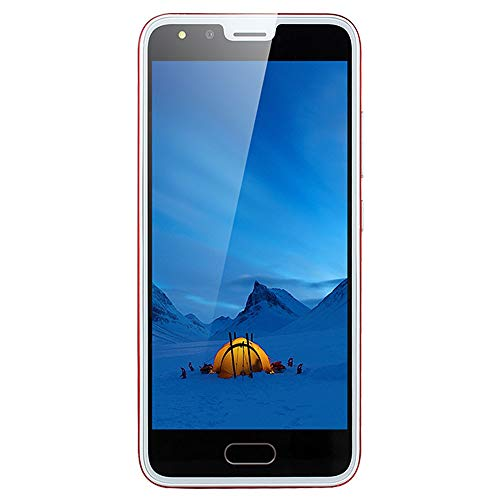 Unlocked Smartphone,2019 New P20 5.0 inch Dual HD Camera Android 4GB Dual SIM Call Touch Screen Mobile Phone Cell Phone (Red)