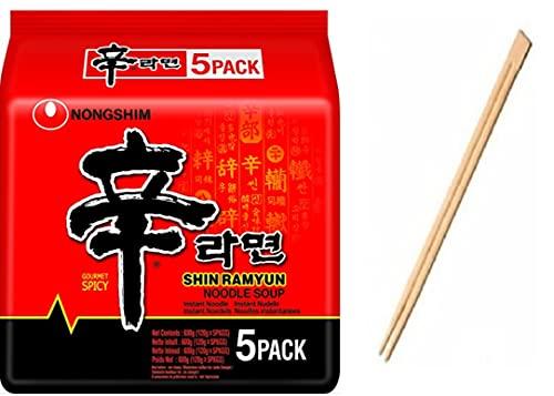 Nongshim Shin Ramyun 120g (Pack of 40)