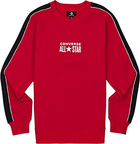 Converse All Star Track Crew Sweat Enamel Red