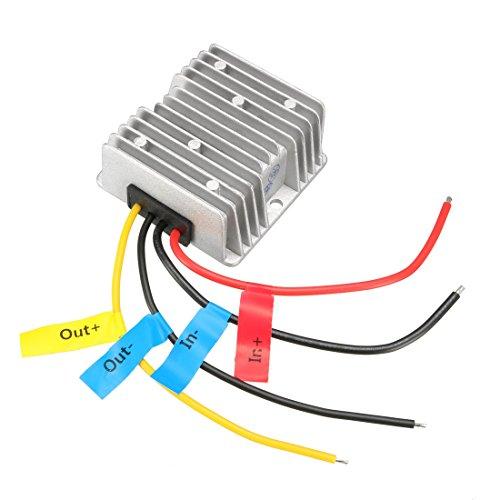 sourcing map DC12V(10V~16V) auf DC24V10A240W Spannungswandler Regler wasserdicht Transformator DE de