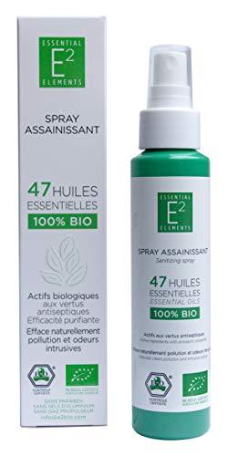 Limpiador complejo 47 aceites esenciales, 100% orgánico, spray para espacios Vegan (100 ml)