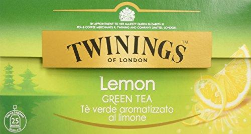 Twinings - Tè verde al limone, 25 bustine da 2 g, 3 confezioni (3 x 50 g)
