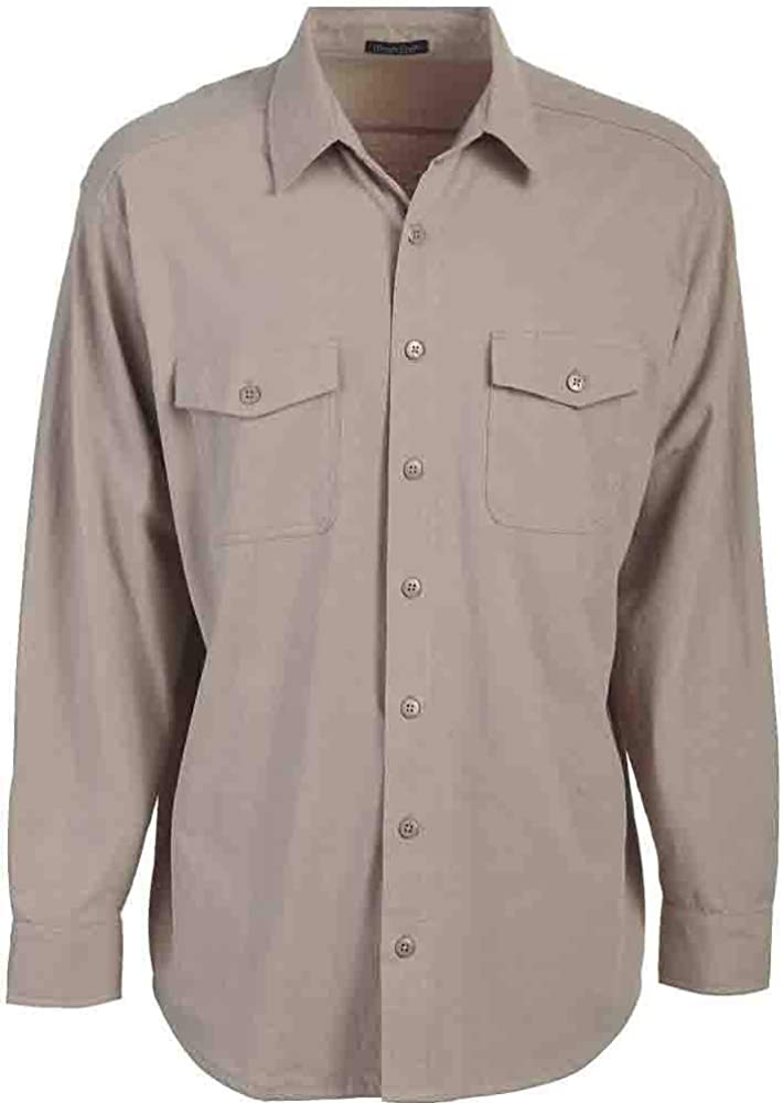 Rivers' End Mens Chamois Shirt Top Casual Shirt - Red