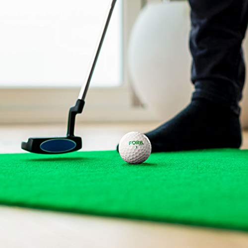 FORB Haus Golf Putting Matten – Praxis & Verbessern, Putt Striche, Golfübungsgeräte Zuhause [Net World Sports] - 6