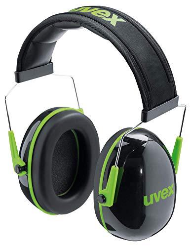 Kapselgehörschutz Uvex K1 Schwarz-Grün