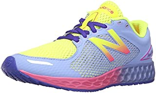 New Balance KJZNTV2 Youth Running Shoe (Little Kid/Big Kid) Yellow/Purple 7 M US Big Kid [並行輸入品]