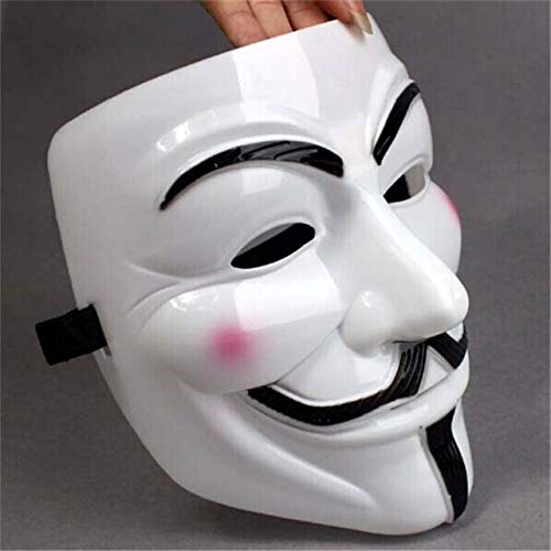 Diximus V for Vendetta Mask Resin Anonymous Guy Fawkes Halloween Mask