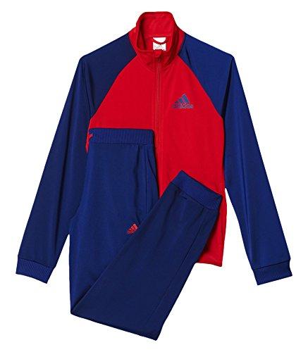 adidas Mädchen Entry Trainingsanzug, Ray Red/Unity Ink, 152