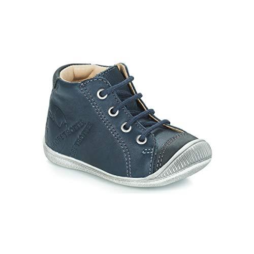 GBB NOE Enkellaarzen/Low boots jongens Blauw Laarzen