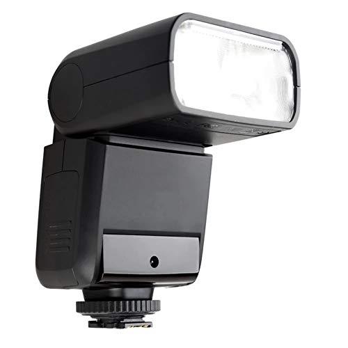 DYecHenG Flash Speedlite Mini Speedlite Portable Speedlite 2.4G Esclavo Maestro Inalámbrico 1 / 8000s HSS TTL Flash Speedlight para Cámara Digital (Color : Black, Size : One Size)
