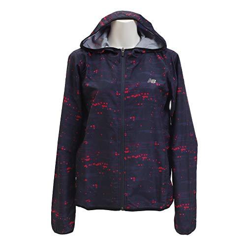 [ニューバランス] W R360 グラフィックウインドジャケット(裏地なし) 羽織 レディース GXY(ギャラクシー) ...