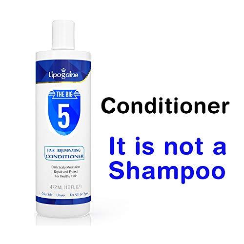 Price comparison product image Lipogaine Hair Rejuvenating Conditioner With Argan Oil,  Keratin,  Aloe Vera,  Vitamins