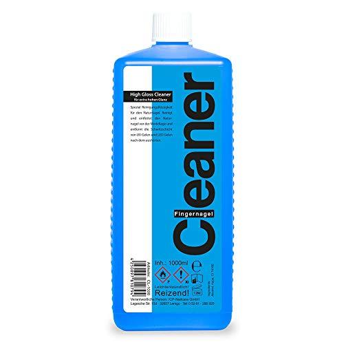 1000ml (1 Liter) Nailcleaner blau Spezial Fingernagelreiniger für die Gel Nagelmodellage in Studioqualität zum reinigen und entfetten