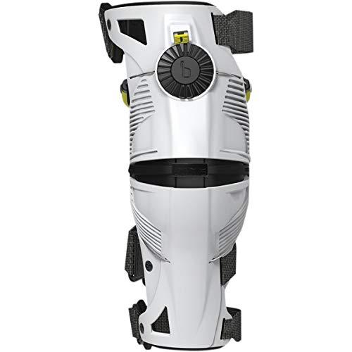 Mobius X8 Knee Braces-White/Acid Yellow-L