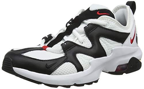 Nike Men's Air Max Graviton Running Shoes, White (WhiteUniv RedBlack 100), 6 UK