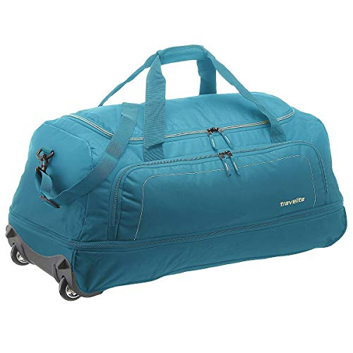 Travelite Basics XL 2-Rollen Reisetasche 78 cm zusammenrollbar