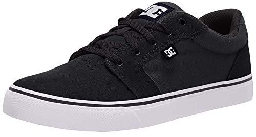 DC Herren Anvil Casual Skate Schuh, Schwarz (schwarz/weiß/schwarz), 42 EU