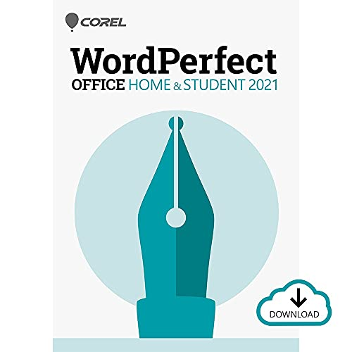 Corel WordPerfect Office Home & Student 2021 | Office Suite of Word Processor, Spreadsheets & Presentation Software [PC Download]