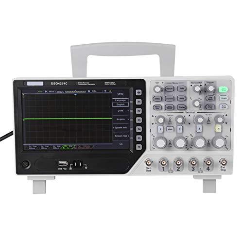 DSO4254Cオシロスコープデジタルストレージオシロスコープ1GS / sサンプルレート12BitS解像度高度なデジタルトリガーシステムを備えた業界向け信号ソース