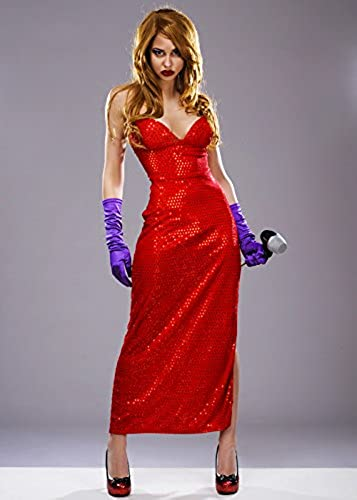 gran descuento Magic Box Jessica Rabbit Estilo Femme Fatale Traje S S S (UK 8-10)  caliente