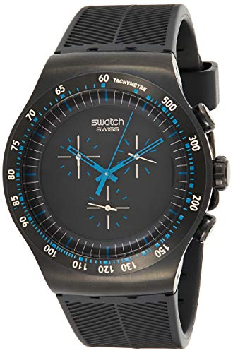 Swatch Reloj de Cuarzo Man Blue IN Dark YOB103 47.0 mm