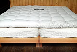 Holy Lamb Organics Wool Mattress Toppers - Ultimate (Queen Ultimate Topper)