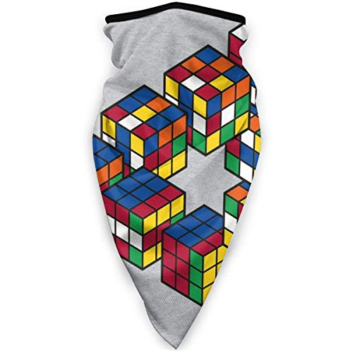 Yuanmeiju Puzzle Cube Penrose Triangle Gesicht Bandanas For Dust, Outdoors, Festivals, Sports