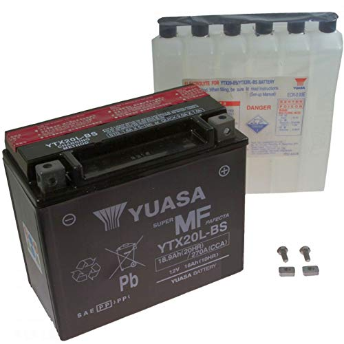 Yuasa AGM Batterie FLD 1690 Dyna Switchback ABS 2012-2015 YTX20L-BS