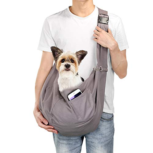 OWNPETS Pet Sling Carrier, Pet Sling Carrier Bag Safe,Fit 15~17lb Cats&Dogs, Comfortable,...