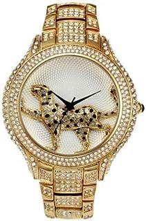 JINN-Women's Watches - Full Diamond Best Womens Watch Brands Fashion Luxury Quartz Gold Watch Women Water Resistant Wild L...