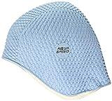 Aqua-Speed Bombastic Latex s Gorro de natación, Hombre, Azul Claro, Talla única