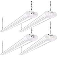 4-Pack Hykolity 4FT 36W Linkable LED Shop Light