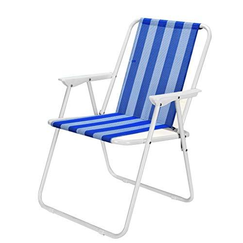 Schwerelosigkeitsklappstuhl Leichter Beach Chair Compact Low Profile Außen Folding Camp Stuhl, Unterstützung 60KG for Outdoor-Camping-Rasen Konzert