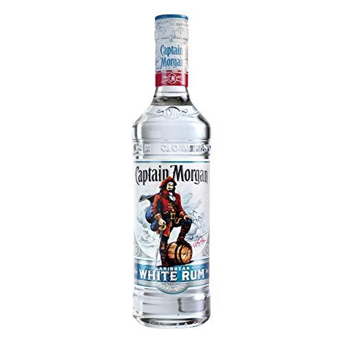 BONUS. Ron blanco Captain Morgan Caribbean White Rum